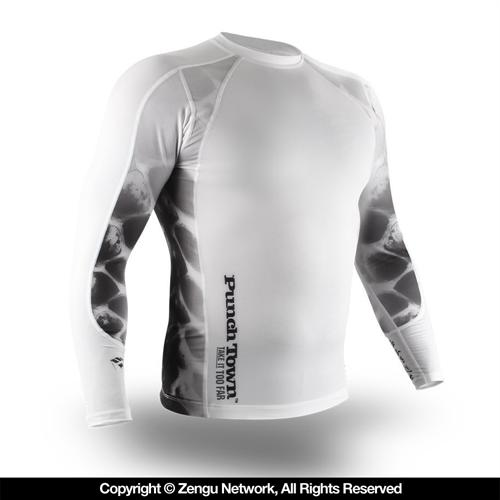 PunchTown PunchTown Ice Mamba Rashguard - Long Sleeve